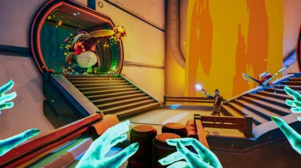 Геймплей Vicious Circle — «антикооперативного» мультиплеера с кровожадным петухом-мутантом2