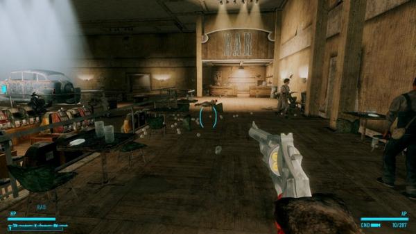 Моддер добавил в Fallout: New Vegas револьвер, стреляющий бейсбольными мячами4