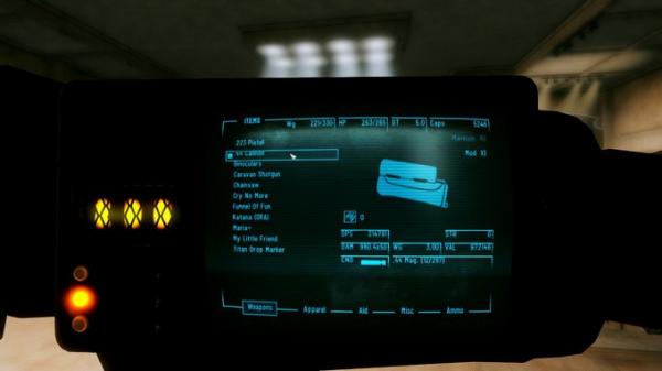 Моддер добавил в Fallout: New Vegas револьвер, стреляющий бейсбольными мячами2
