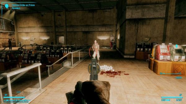Моддер добавил в Fallout: New Vegas револьвер, стреляющий бейсбольными мячами1