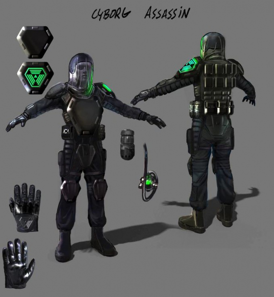 Новые скриншоты, арты и рендеры ремейка System Shock11