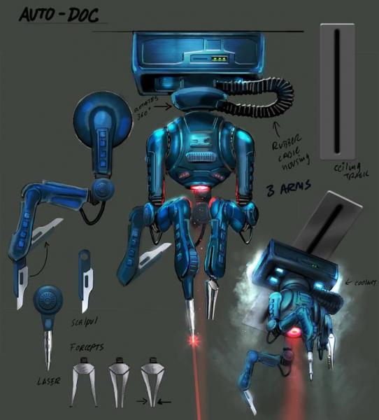 Новые скриншоты, арты и рендеры ремейка System Shock13