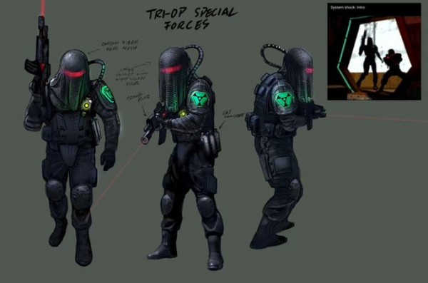 Новые скриншоты, арты и рендеры ремейка System Shock8
