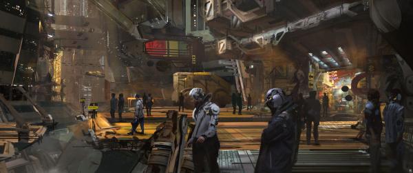 История мира Cyberpunk2
