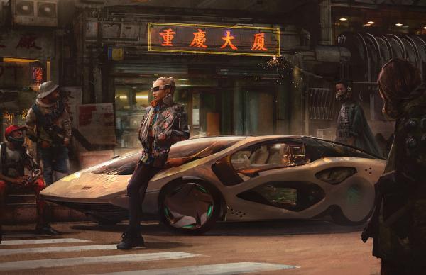 История мира Cyberpunk1