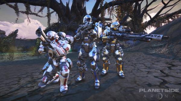 PlanetSide Arena выйдет в Steam Early Access 19 сентября. Уже представлен план развития игры3