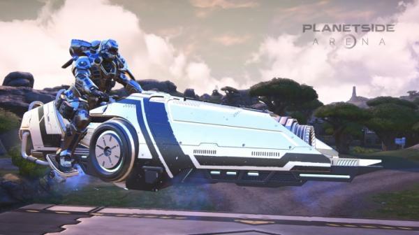 PlanetSide Arena выйдет в Steam Early Access 19 сентября. Уже представлен план развития игры2