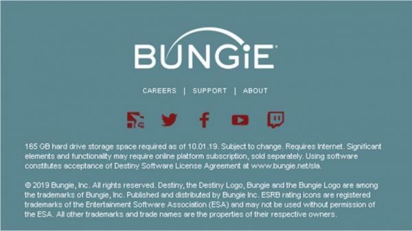 Вероятно, Destiny 2 вместе с дополнением Shadowkeep будет занимать 165 Гб на жёстком диске0
