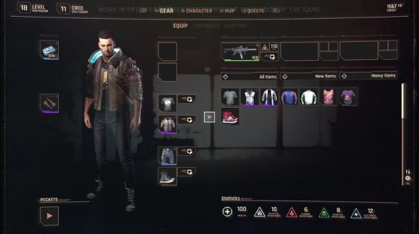 Что мы узнали из геймплея Cyberpunk 2077: создание и кастомизация персонажа, стили игры3