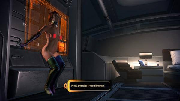Для Mass Effect 1 и 2 вышел голый мод для танцовщиц4