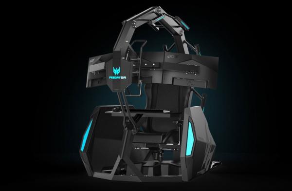 Predator Thronos Air — новое игровое кресло от Acer стоимостью 14000 долларов0