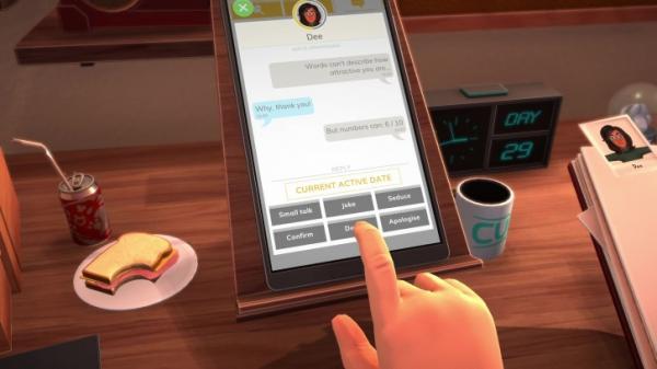 Table Manners — симулятор катастрофических свиданий в ресторане0