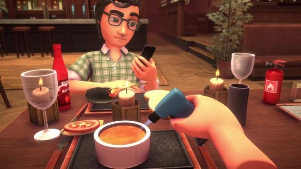 Table Manners — симулятор катастрофических свиданий в ресторане3