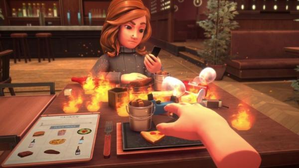Table Manners — симулятор катастрофических свиданий в ресторане5