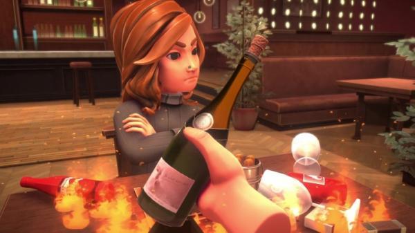 Table Manners — симулятор катастрофических свиданий в ресторане4