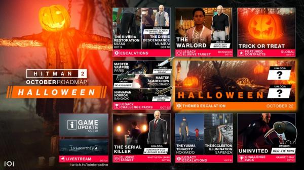 Photo of Детали октябрьского контента для Hitman 2 — часть посвящена Хэллоуину