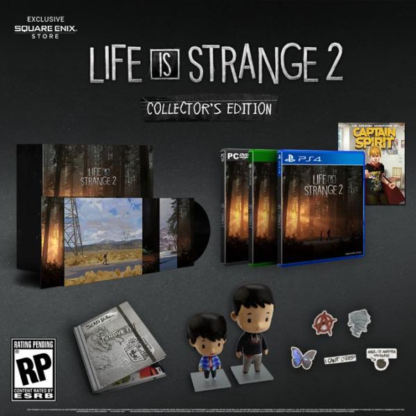 Коллекционное издание Life is Strange 2 появится в продаже 3 декабря0