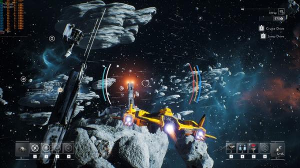 Космические просторы на новых скриншотах Everspace 27