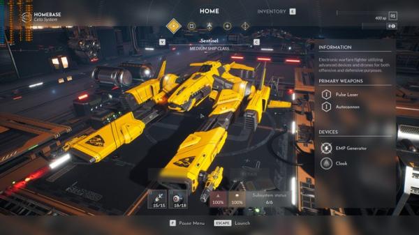 Космические просторы на новых скриншотах Everspace 20