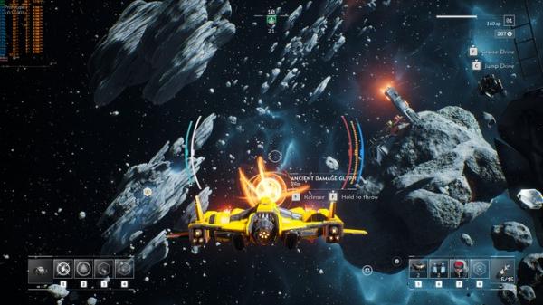 Космические просторы на новых скриншотах Everspace 211