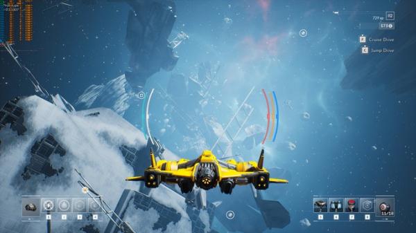 Космические просторы на новых скриншотах Everspace 21