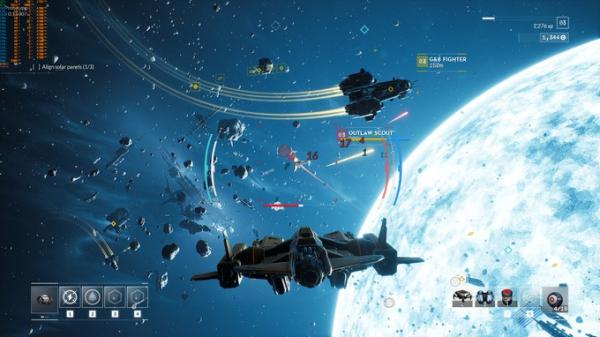 Космические просторы на новых скриншотах Everspace 28