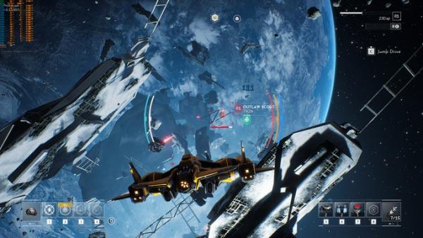Космические просторы на новых скриншотах Everspace 29