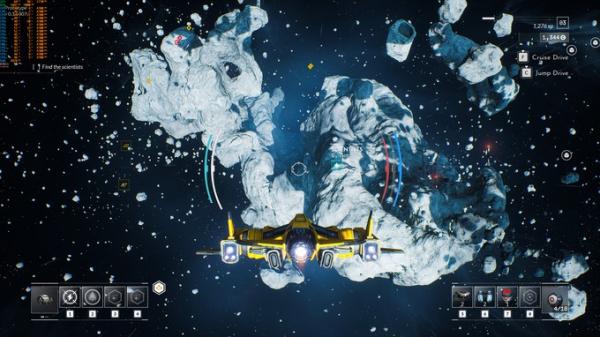 Космические просторы на новых скриншотах Everspace 22