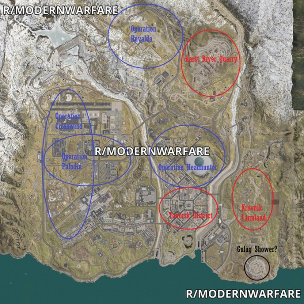 Утечка: Подробности королевской битвы в Call of Duty: Modern Warfare0