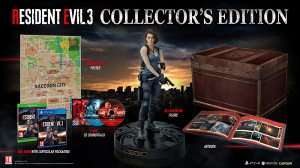 Photo of В коллекционном издании ремейка Resident Evil 3 будет фигурка Джилл