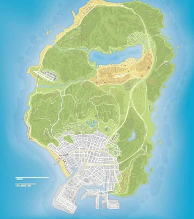 всего 1 город гта 6