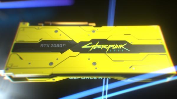 Photo of NVIDIA разыграет видеокарты GeForce RTX 2080 Ti в стиле Cyberpunk 2077
