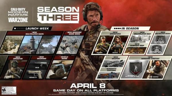 Photo of Трейлер третьего сезона Call of Duty: Modern Warfare