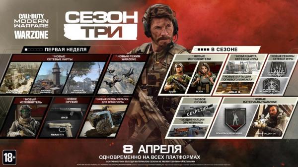 Photo of В третьем сезоне Call of Duty: Warzone получит новые режимы помимо «Четверок»