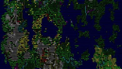 Photo of Создатель Dwarf Fortress показал новую карту мира игры