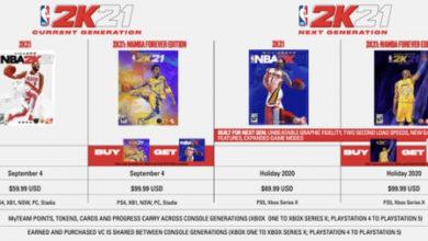 Photo of Некстген-версия NBA 2K21 стоит на $10 дороже